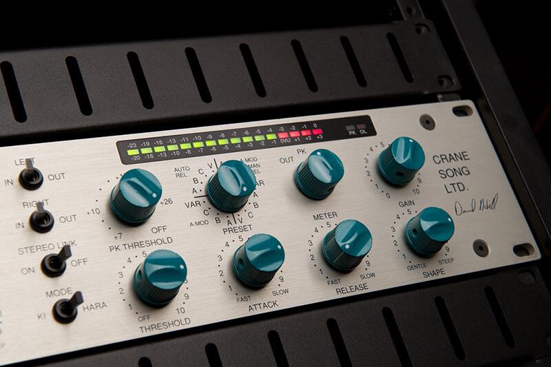 Procesador de audio dinamica Cranesong