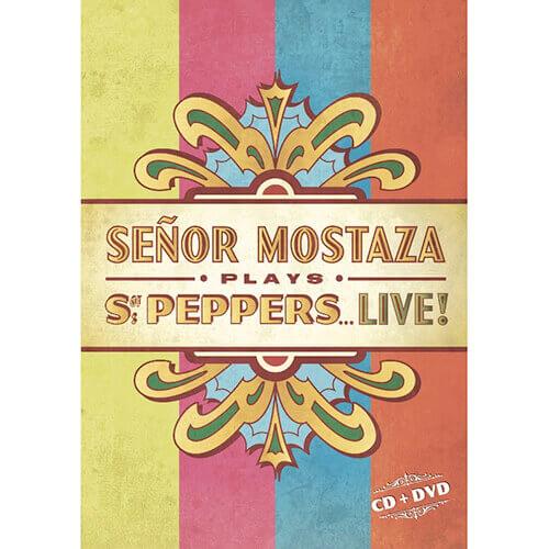 """Portada """"Peppers Live"""" SEÑOR MOSTAZA"""