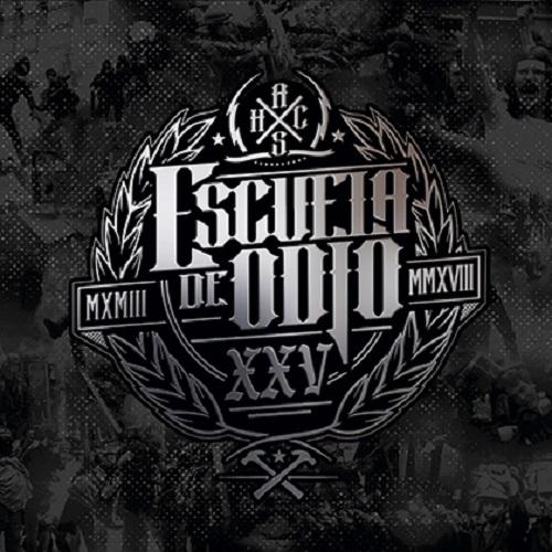 """Portada """"XXV"""" -ESCUELA DE ODIO"""