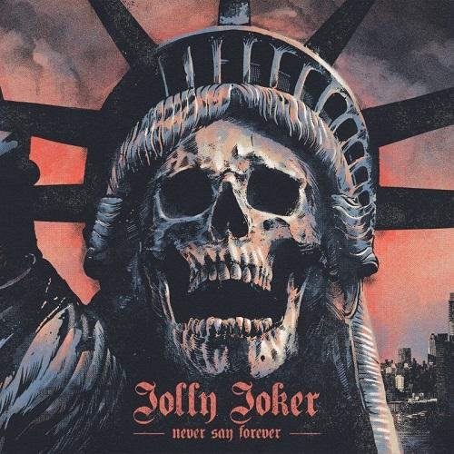 """Portada """"Never say forever"""" - JOLLY JOKER"""